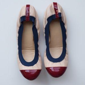 J.Crew Mila Cap-Toe Ballet Flats